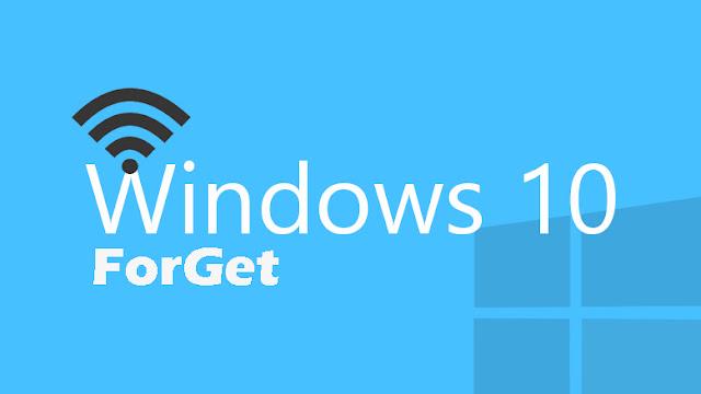 Cara Forget Atau Menghapus Wifi yang Tersimpan di Windows 10