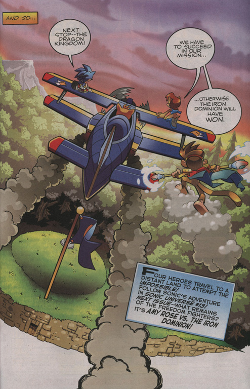 Read online Sonic The Hedgehog comic -  Issue #209 - 23