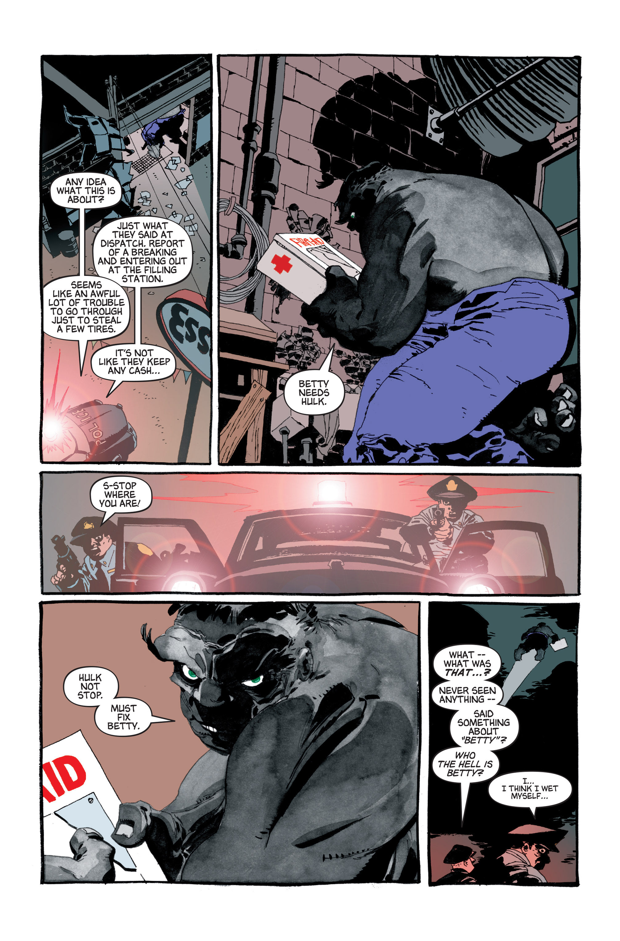 Read online Hulk: Gray comic -  Issue #5 - 5