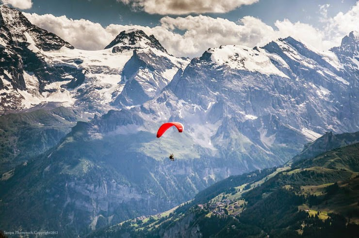 9. Wengen, Canton of Bern, Switzerland - Top 10 Paragliding Sites