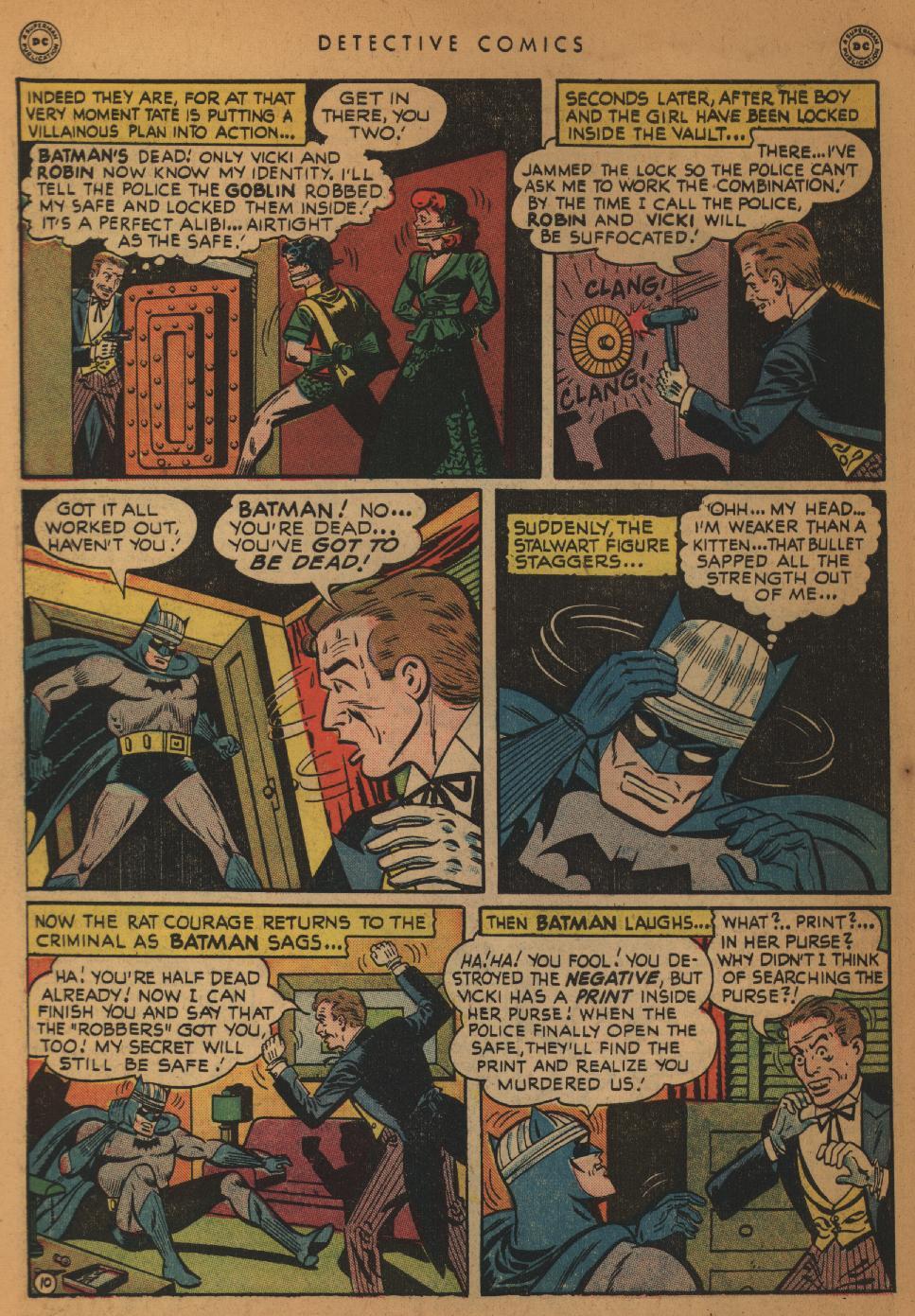 Read online Detective Comics (1937) comic -  Issue #152 - 12