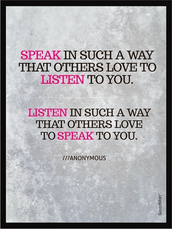 Such A Great Inspiration For Today Find More Positive: Quotes About Listening To Others. QuotesGram