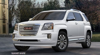 2016 GMC Terrain popular mid-size crossover summit white