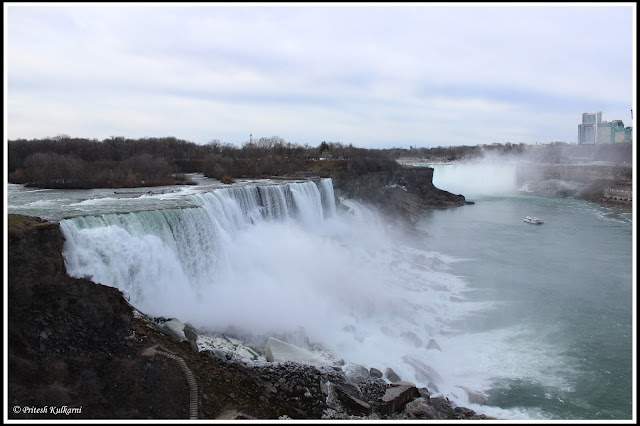 Niagara Fall, New York from Observatory deck