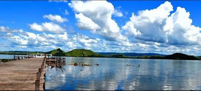 Wisata papua danau sentani