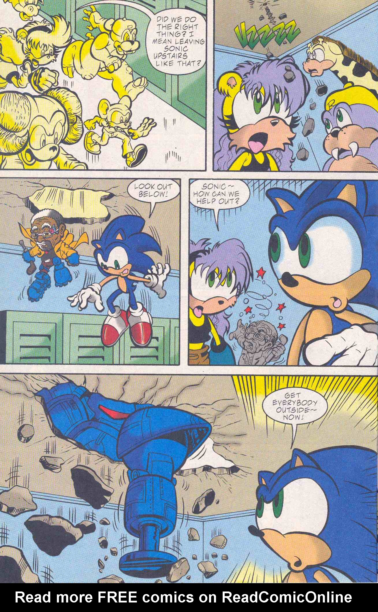 Read online Sonic The Hedgehog comic -  Issue #96 - 12
