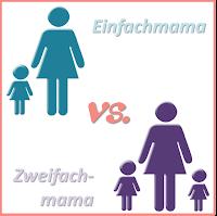 So unterschiedlich kann das Leben einer Mama mit einem bzw. zwei Kindern aussehen