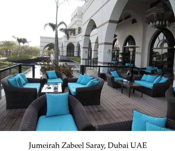 Best Places In Dubai For Shisha: The Art Of Living: In Love With Jumeirah Zabeel Saray