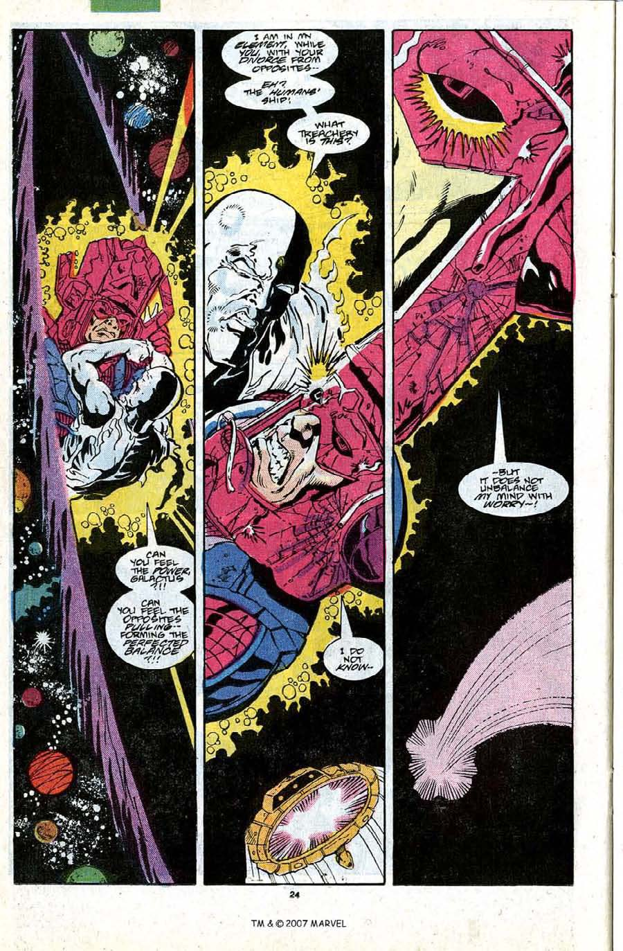 Read online Silver Surfer (1987) comic -  Issue #18 - 26