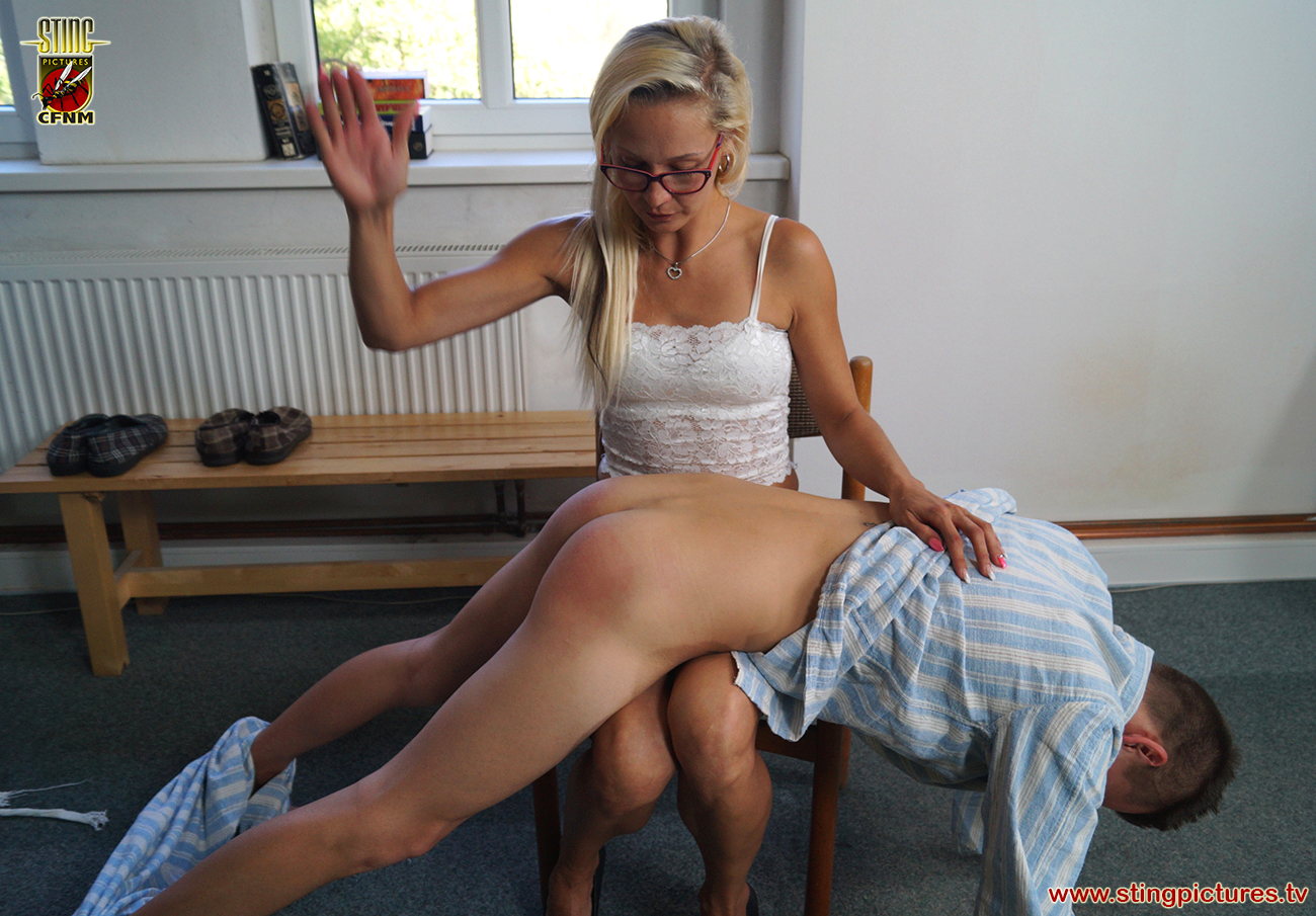 Paddle her bare bottom 4