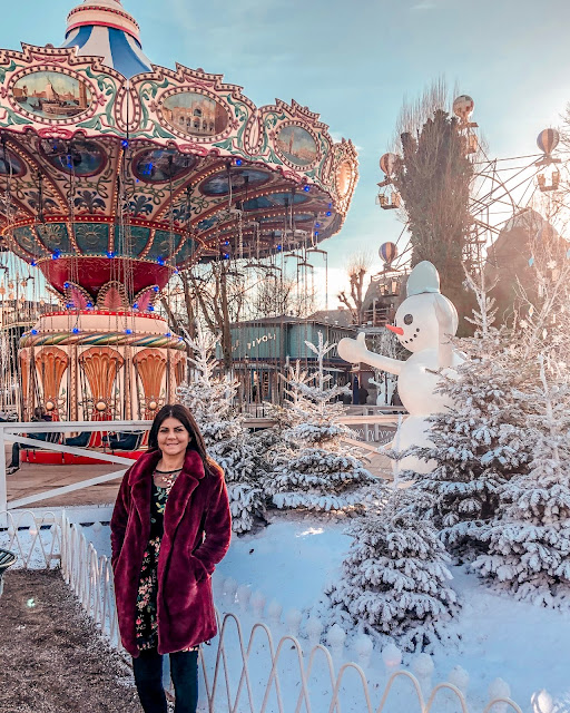 Tivoli Gardens - rides and decorations