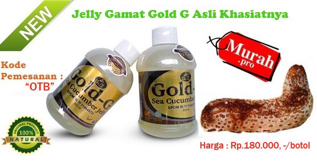 Jelly Gamat Gold G Obat Herbal Untuk Penyakit Rematik