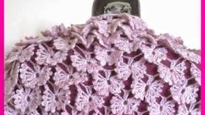 Magnífico punto crochet en relieve