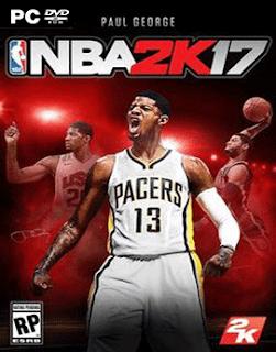 غلاف لعبة تحميل لعبة كرة السلة NBA 2017