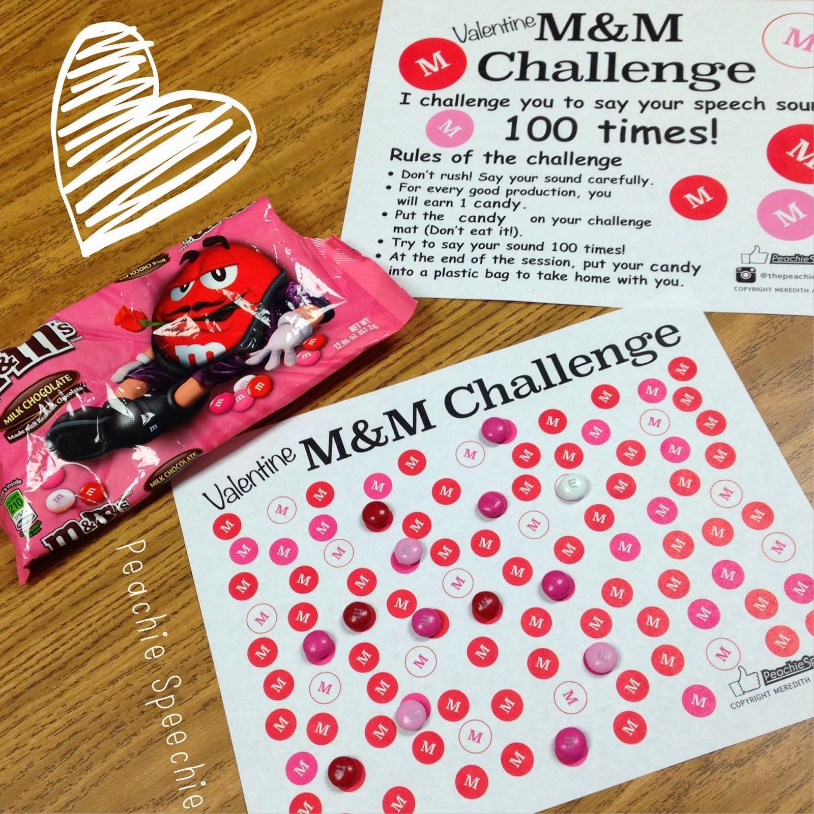 1 Valentine M Amp M Challenge