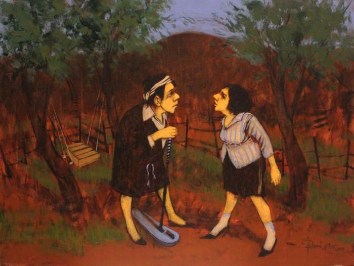 Турецкий художник. Orhan Umut