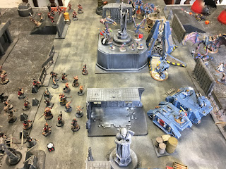40k batrep GSCvsSWvsCSM the centre cannot hold