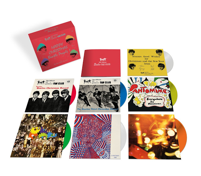 The Beatles' The Christmas Records box set