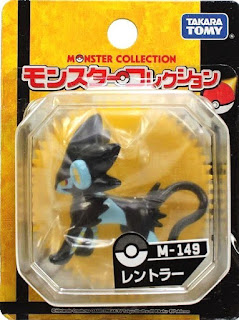 Luxray figure Takara Tomy Monster Collection M series