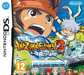 Inazuma Eleven 2 Blizzar, nds, español, mega