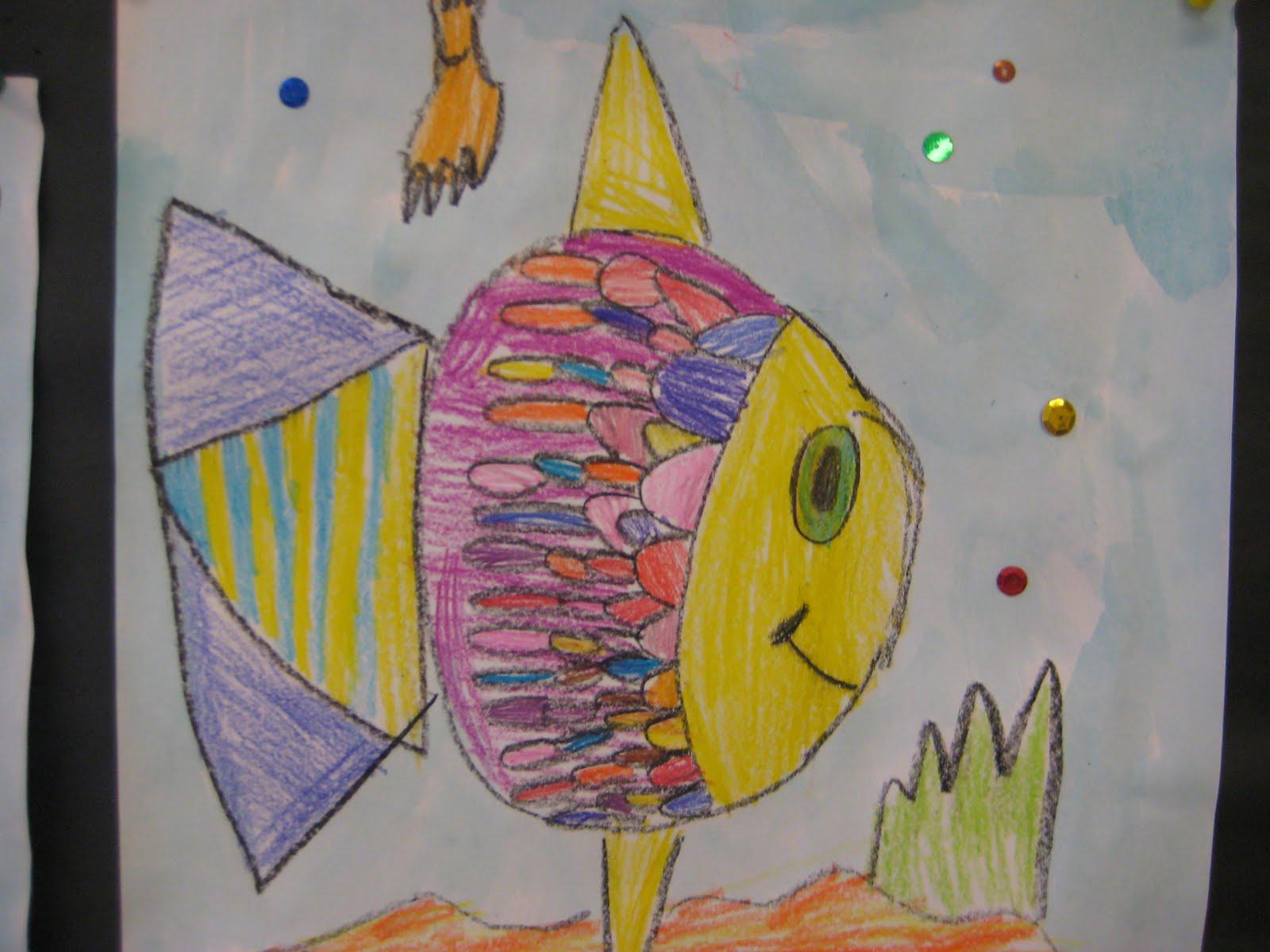Why Walk When You Can Fly Kindergarten Rainbow Fish