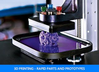 3D PRINTING - RAPID PARTS AND PROTOTYPES