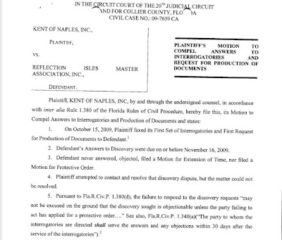 Kent Security Naples bitterly sues former client.