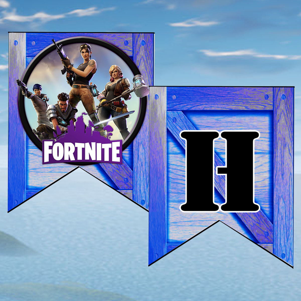 This is a photo of Printable Fortnite throughout ninja fortnite logo