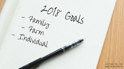 Family, Farm and Individual Goal Setting for the New Year