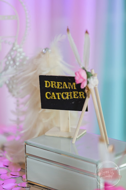 Boho Chic Dream Catcher Isha's First Birthday Party ~ A one stop solution for A to Z of events!