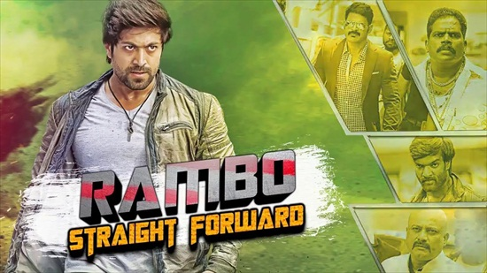 Rambo Straight Forward 2018 Hindi Dubbed Movie 450MB