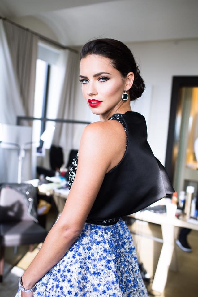 Adriana Lima Instagram Photo Exclusive