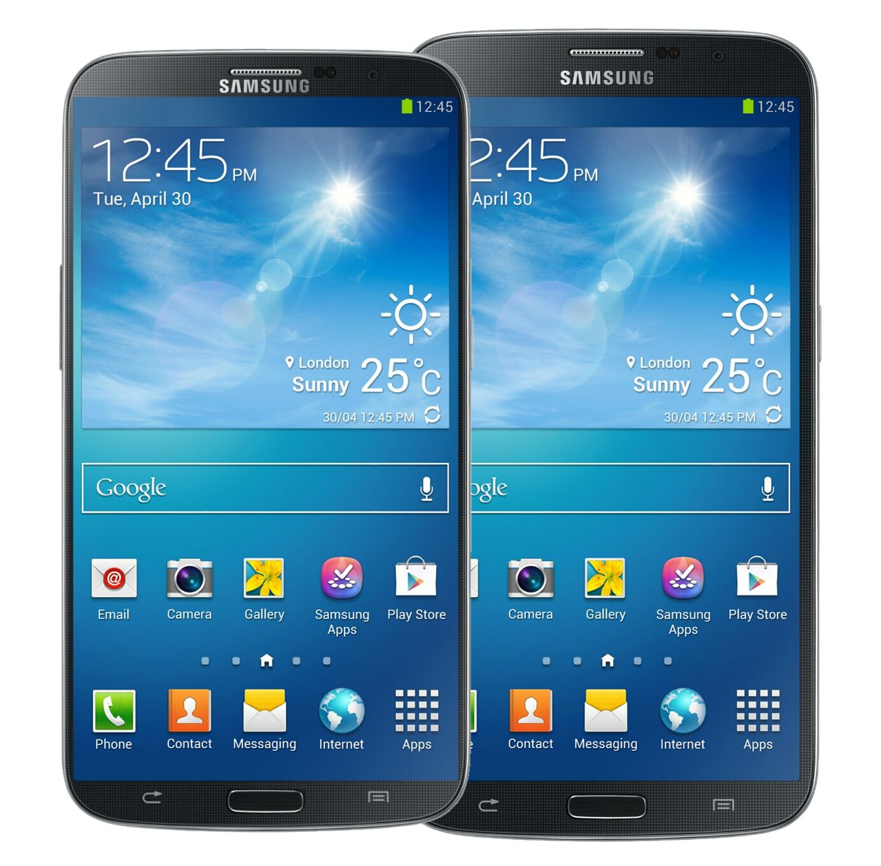 Mobile phone and samsung galaxy note