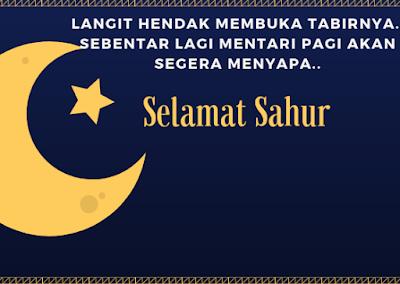 Ucapan Selamat Sahur 2019