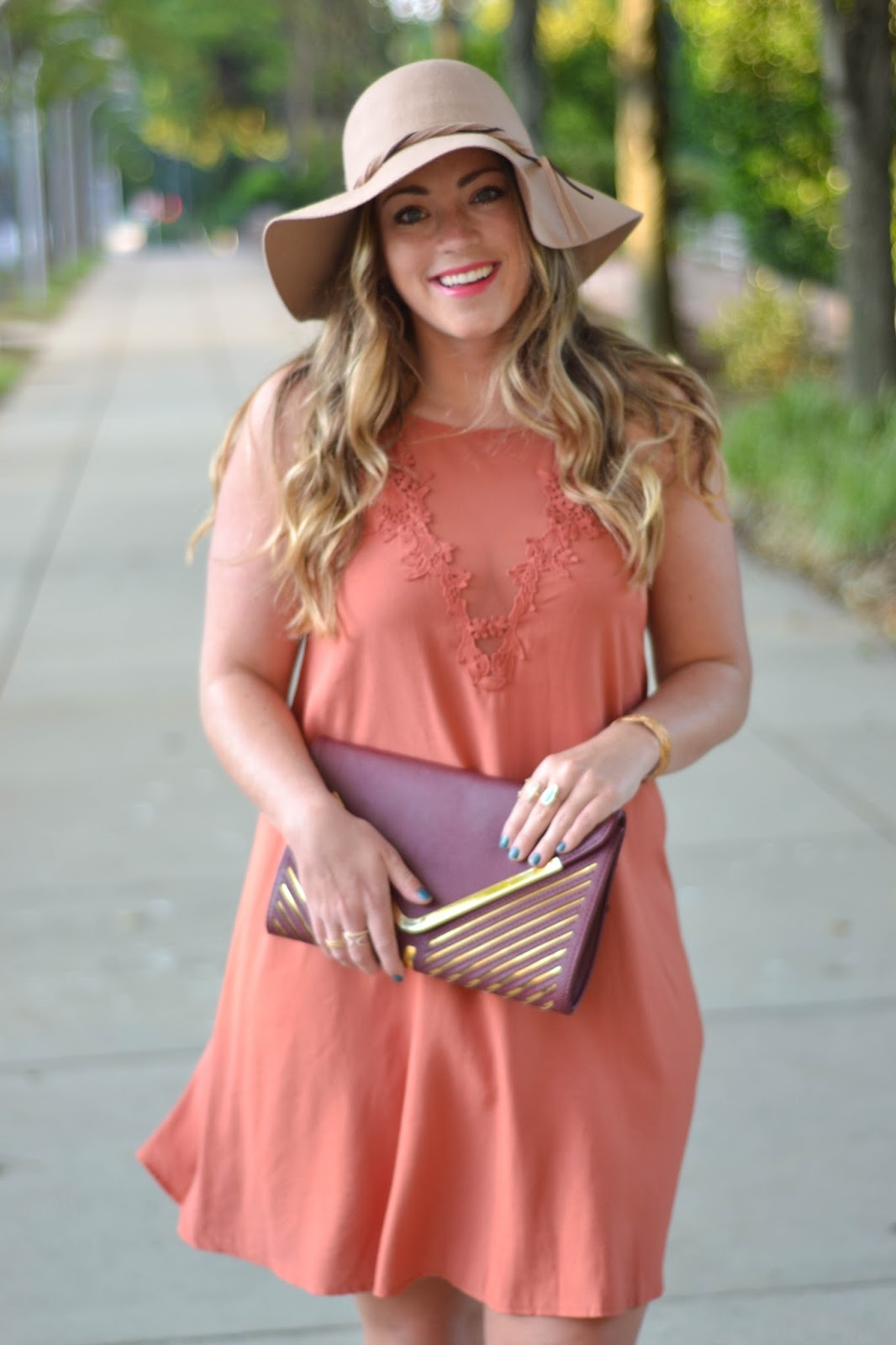 Mixed Media Square Neck Dress | Brittany Ann Courtney