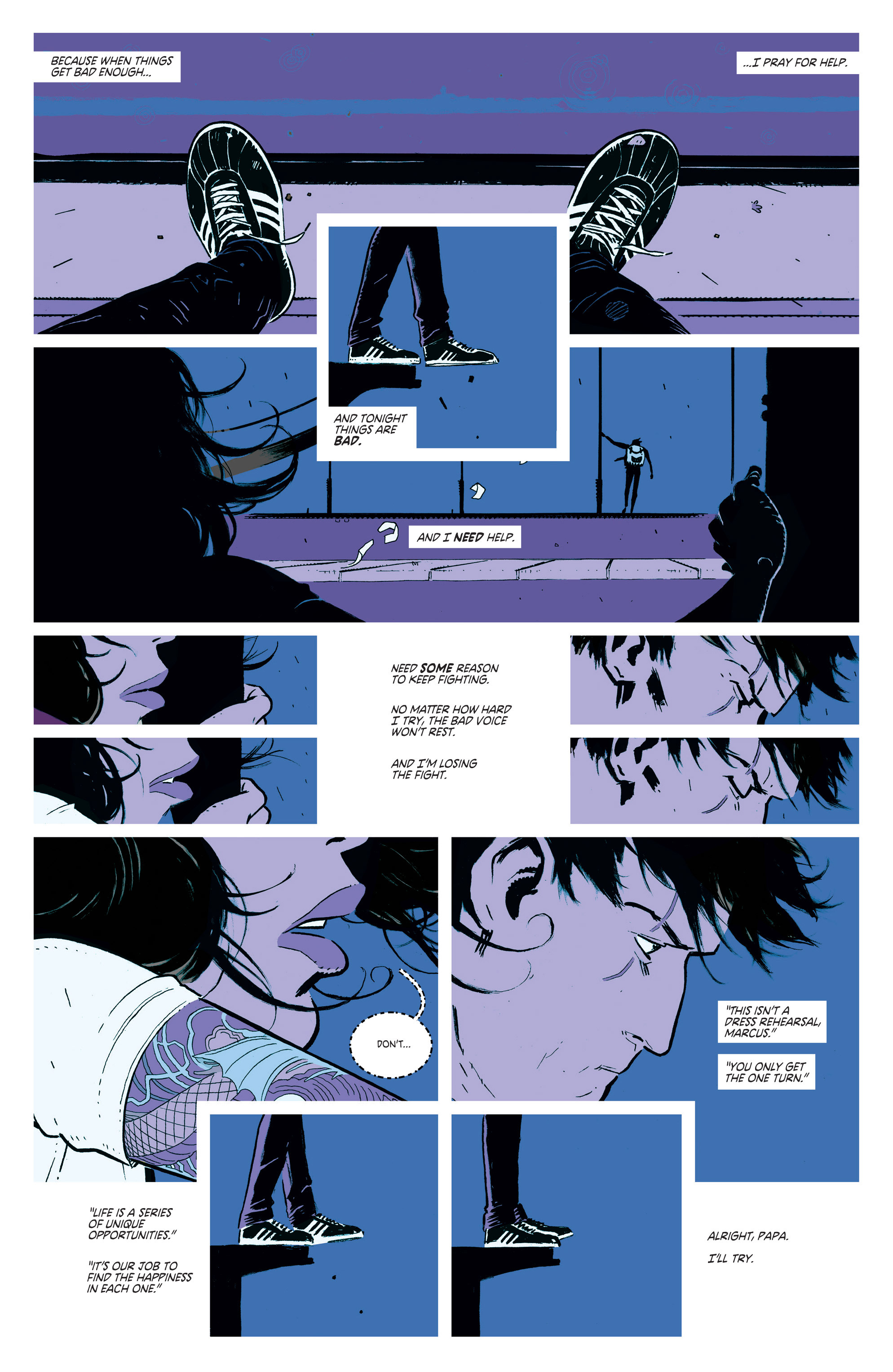 Read online Deadly Class comic -  Issue #1 - 10