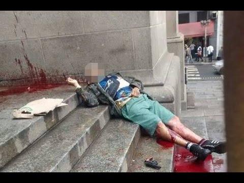 Homem entra em catedral em SP, mata 4 pessoas e se suicida