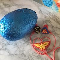 DC Super Hero Girls Easter Egg