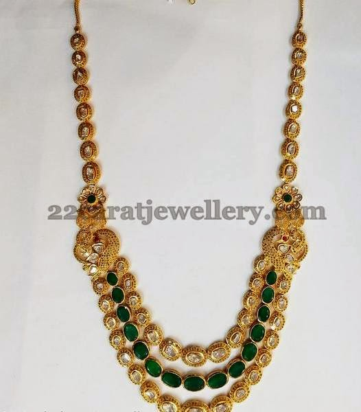 Srimahalakshmi's Contemporary Kundan Set