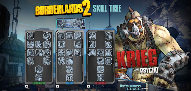 Borderlands 2 Psycho Skill Tree