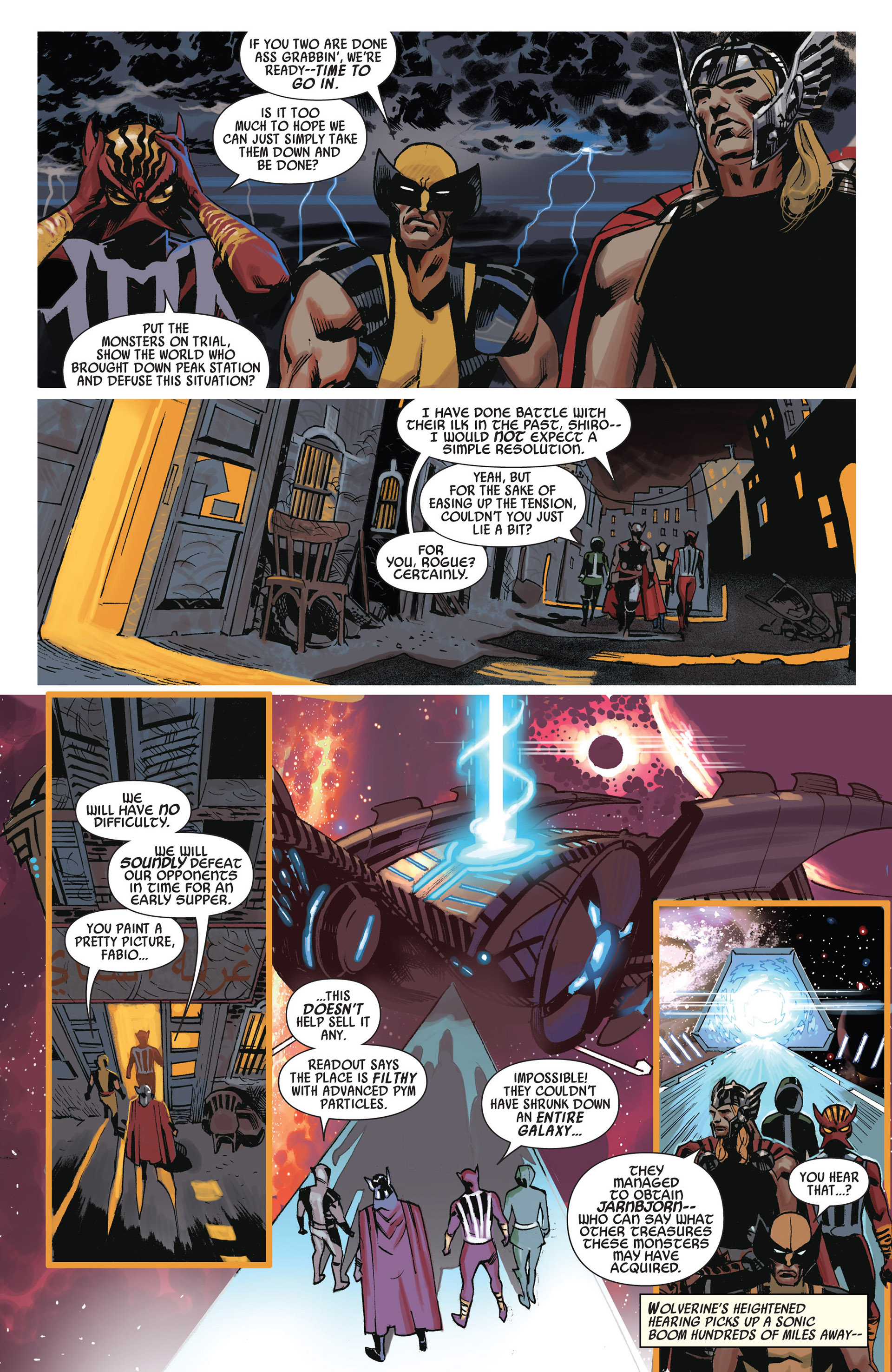 Read online Uncanny Avengers (2012) comic -  Issue #10 - 15