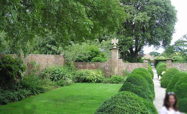 angielski ogród,