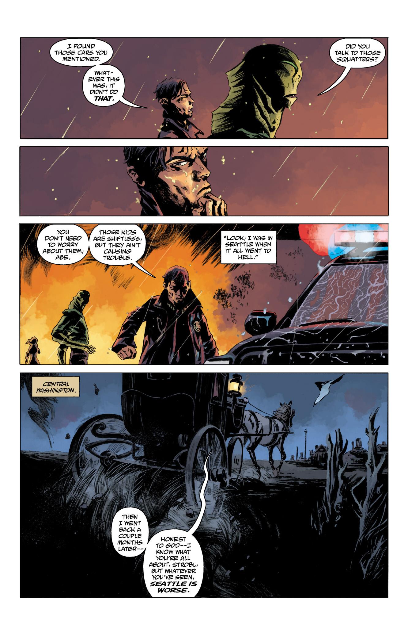 Read online Abe Sapien comic -  Issue #10 - 4