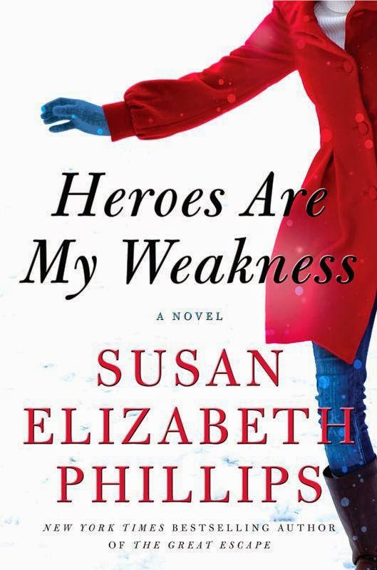 Review: Susan Elizabeth Phillips' HEROES ARE MY WEAKNESS is a must-read, modern day gothic page turner!
