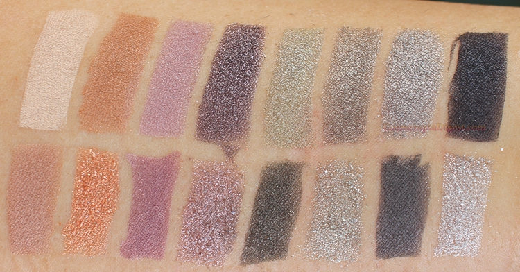 Lancome Auda[City] in London Eyeshadow Palette Review, Swatches