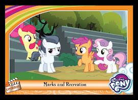 My Little Pony Marks and Recreation Series 5 Trading Card