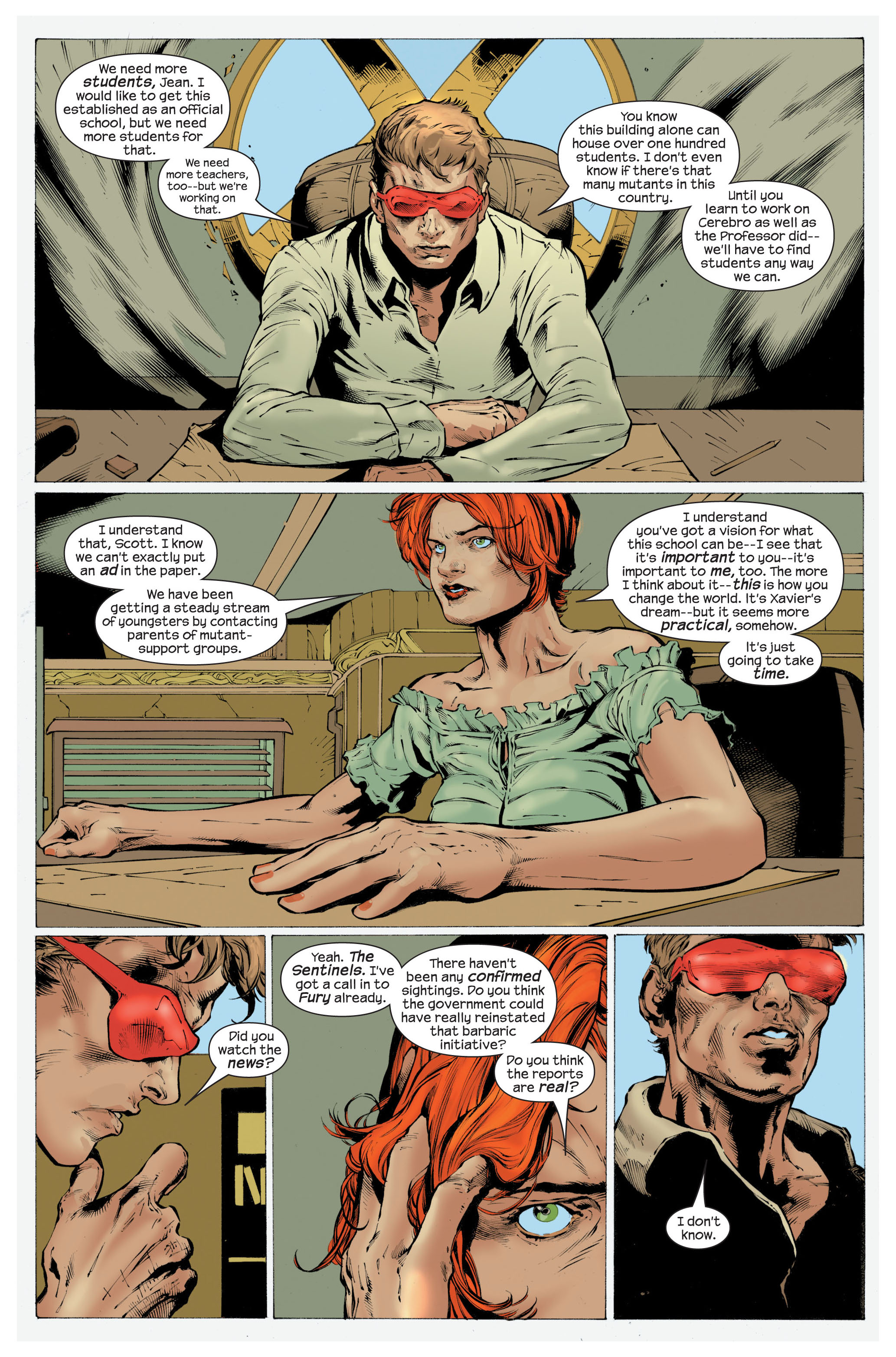 Read online Ultimate X-Men comic -  Issue #82 - 9