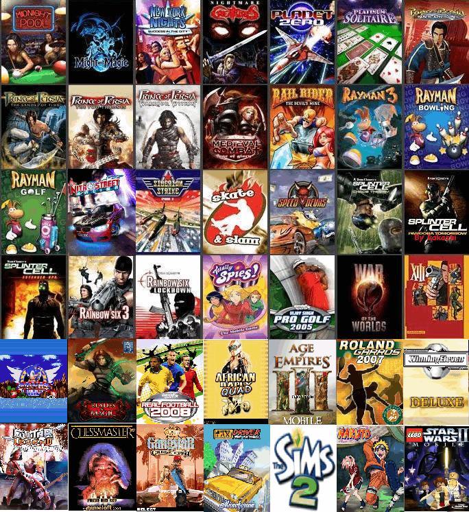 Alexisfor24 Gran Variedad De Juegos Para Nokia Sonyericcson Y Mas