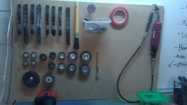 cheap garage organization