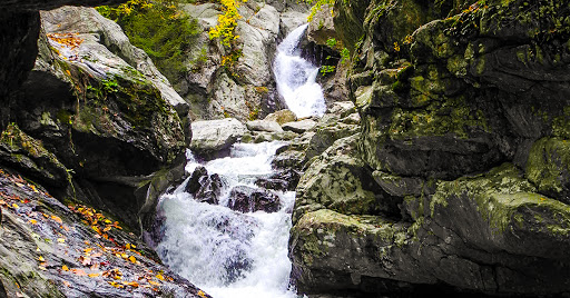 Lower portion of Bash Bish Falls